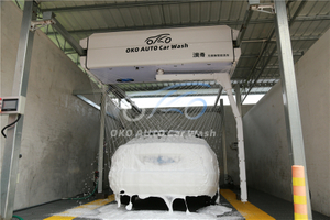 Automatically Car Wash Machine
